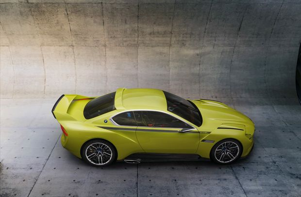 BMW's new 3.0 CSL Hommage Concept car is a tribute to the original 3.0 CSL homologation special from 1972.