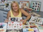Bernii Miller is excited to be a instructor at Brisbane's Scrapbook and Papercraft Expo.