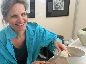 Ceramics artist finds her clay work cathartic