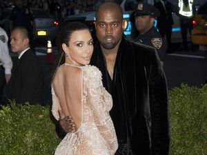 Kim and Kanye celebrate first wedding anniversary