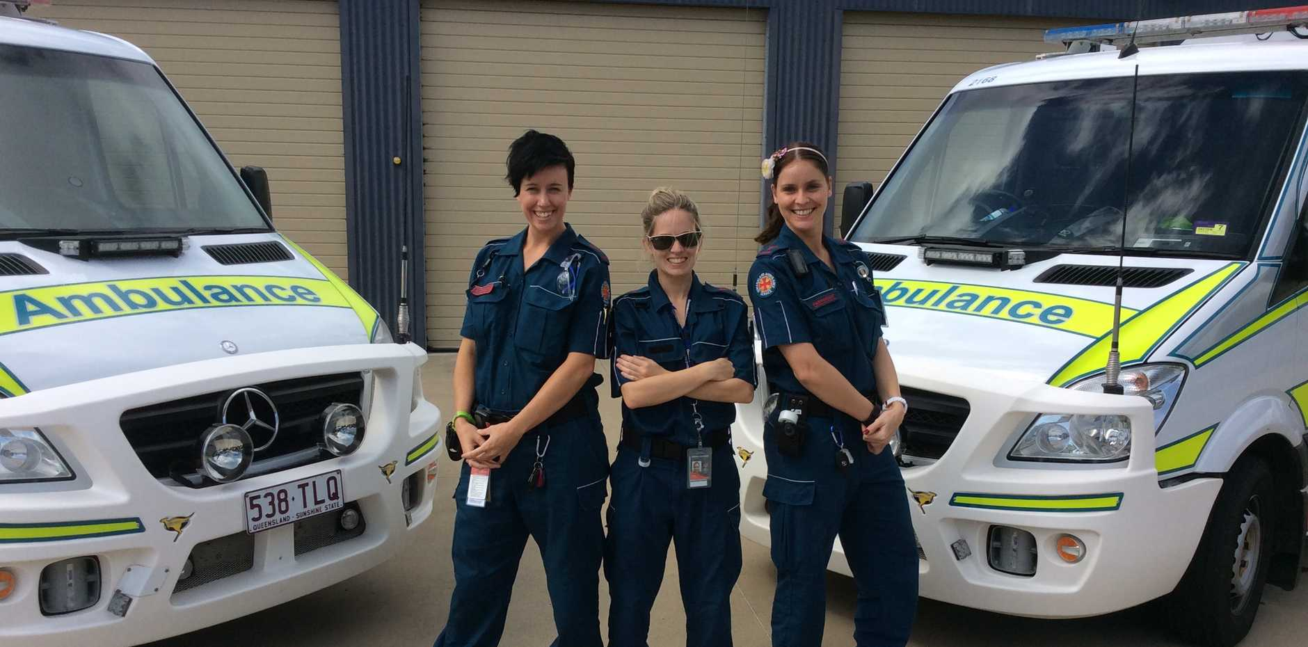 This weekend, South Mackay Ambulance Station is holding an open day and is inviting locals to come along.