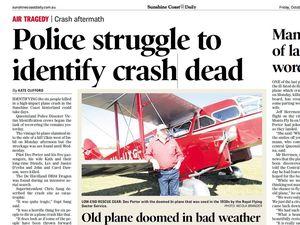Family dispute over plane crash victims' estate