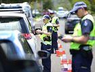 Police test drivers at Amarina Ave, Mooloolaba