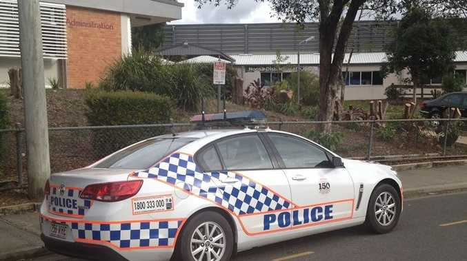Police attend Noosa District State High School after a teenage girl had to be restrained by a staff member