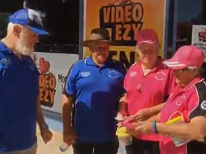 Fundraisers walk around Australia to beat cancer
