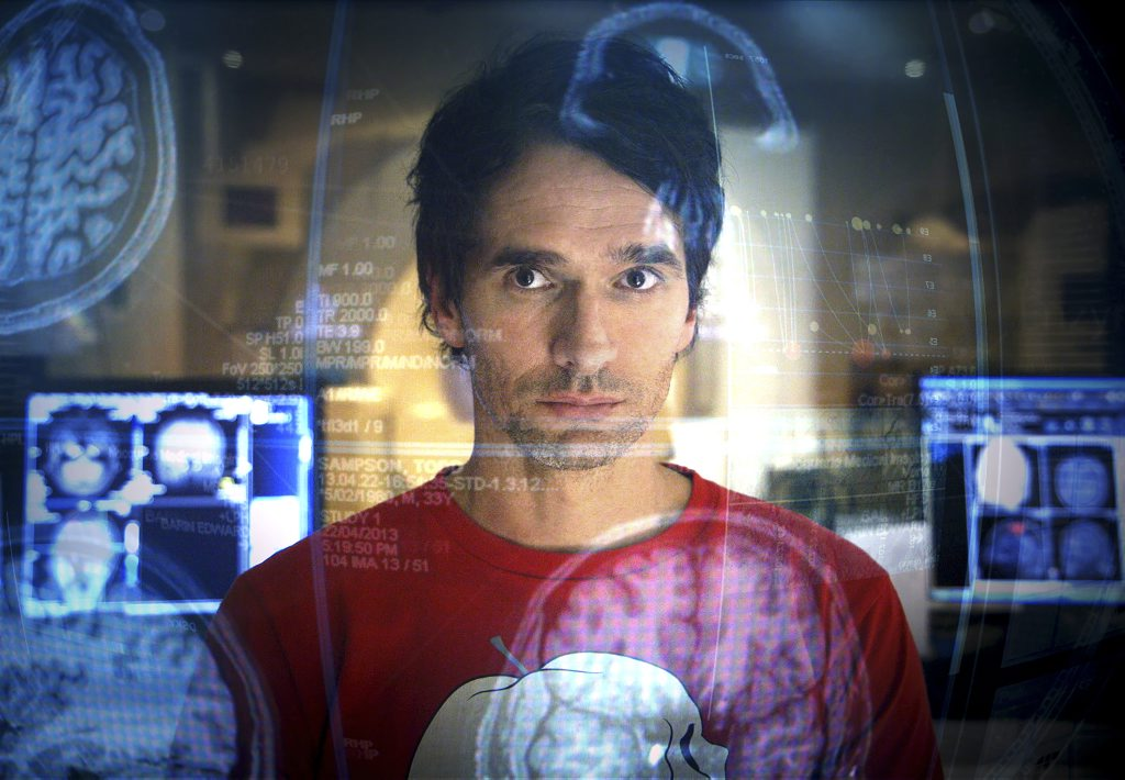 Todd Sampson in a scene from the TV series Redesign My Brain.