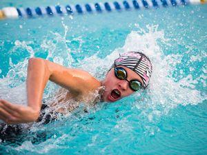 Swimmer Alexa Leary