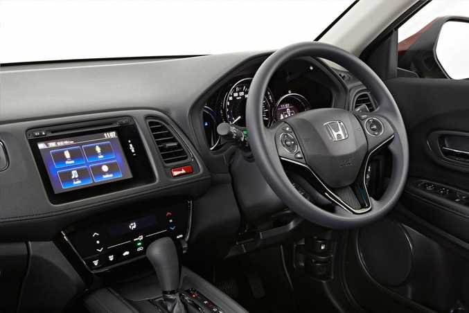 Honda HR-V has decent cabin space and good colour touchscreen.