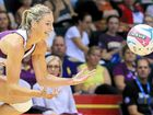 CAPTAIN COURAGEOUS: Laura Geitz, a former Allora junior, in action for the Queensland Firebirds this season.