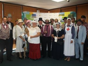 Council meeting conducted in costume