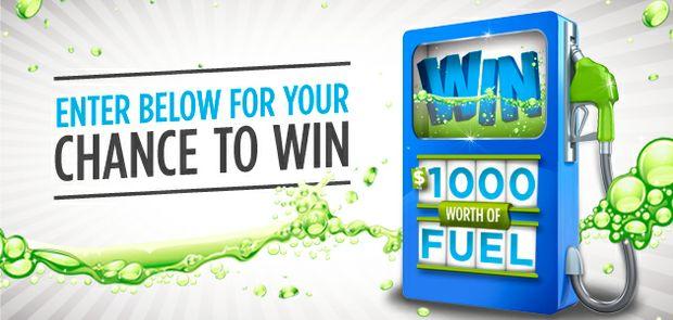 Win $1,000 Worth of Fuel!