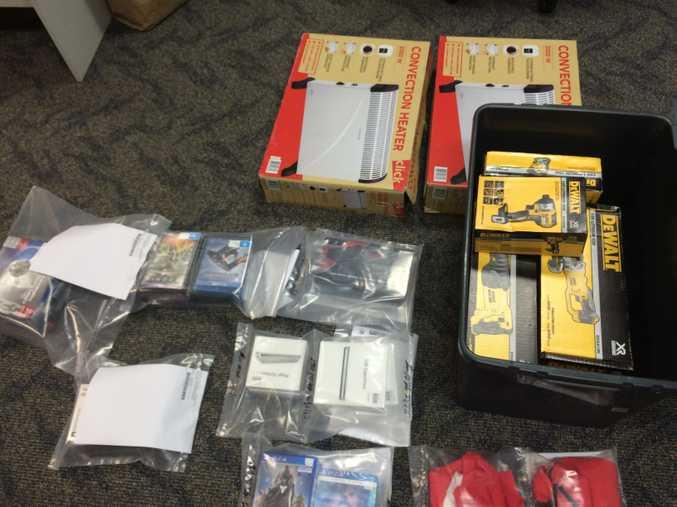 Property seized during Sunshine Coast raids