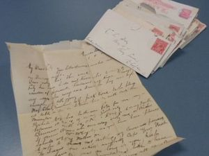 Police solve mystery of antique love letters