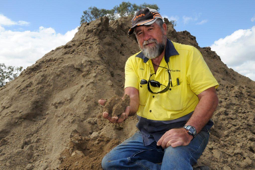 John Parsons Prophet Gold Mine Kilkivan Photo Tanya Easterby / The Gympie Times
