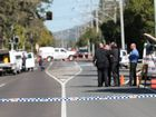 Police on the scene of a double homicide and police shooting on Yandina Coolum Road, Coolum Beach. Photo Darryn Smith / Sunshine Coast Daily