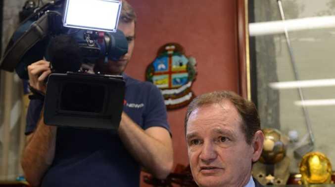 Ipswich mayor Paul Pisasale is in the media spotlight.