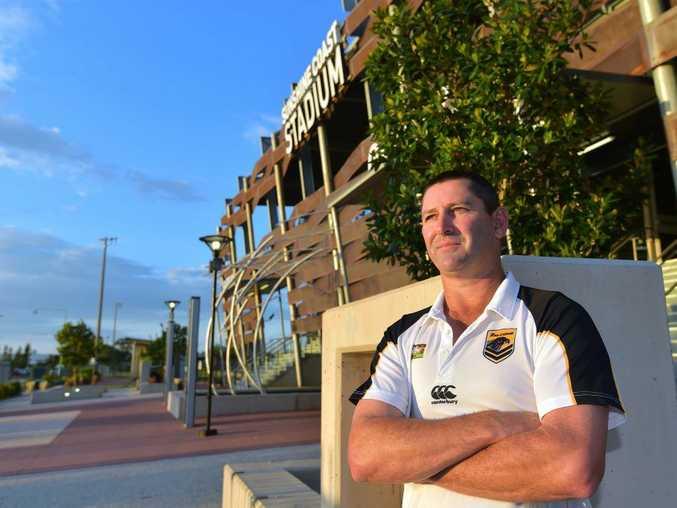 Sunshine Coast Falcons coach Glen Dreger