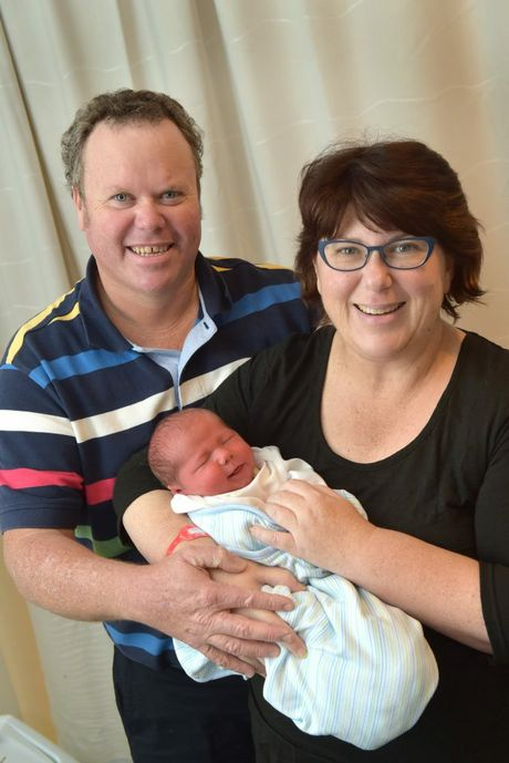 Blake Hayden Lloyd was born at the Sunshine Coast Private Hospital on May 19, weighing 3752 grams. He is the first child for Lisa and David Lloyd of Goondiwindi. Photo: Brett Wortman / Sunshine Coast Daily