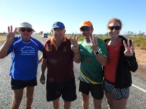 Dave Alley passes 3000km mark on Race Around Australia