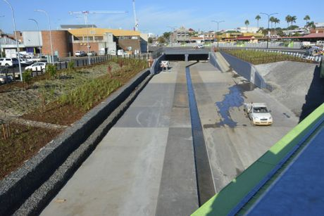 Flood mitigation is a major part of the project.