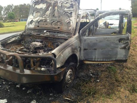 This car was stolen from a Mulloway Place home and torched at the end of 2014.