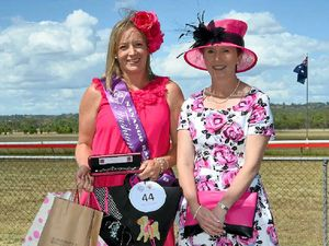 Vintage fashion theme for Nanango races