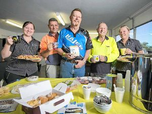 Gladrock gladly pitches in to raise cancer funds