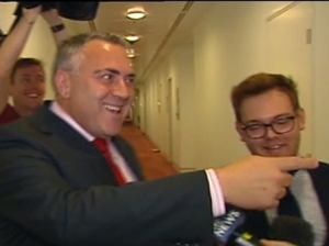 Joe Hockey to reporters: Guys, are you 18?