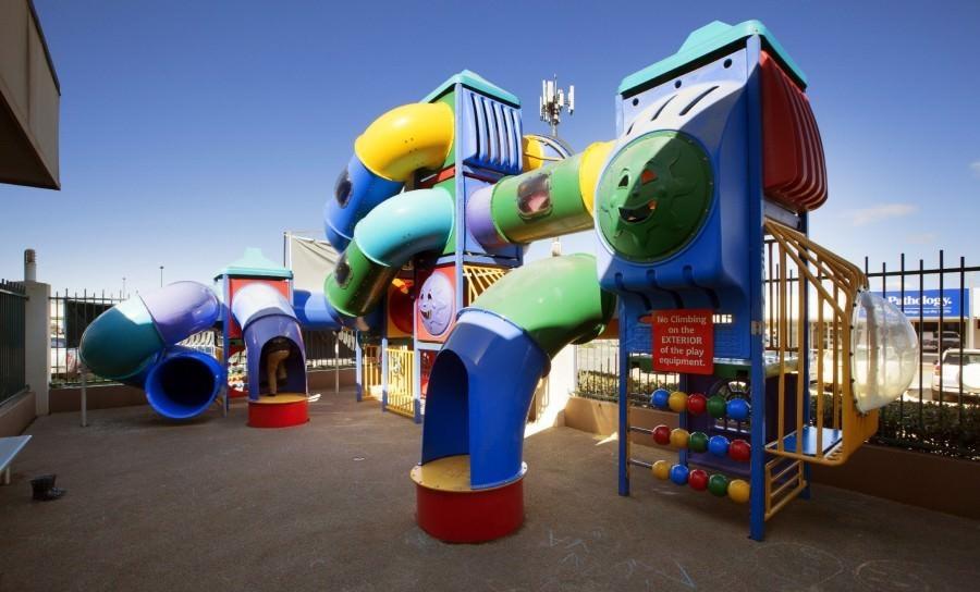 Playground at the Wilsonton Hotel.