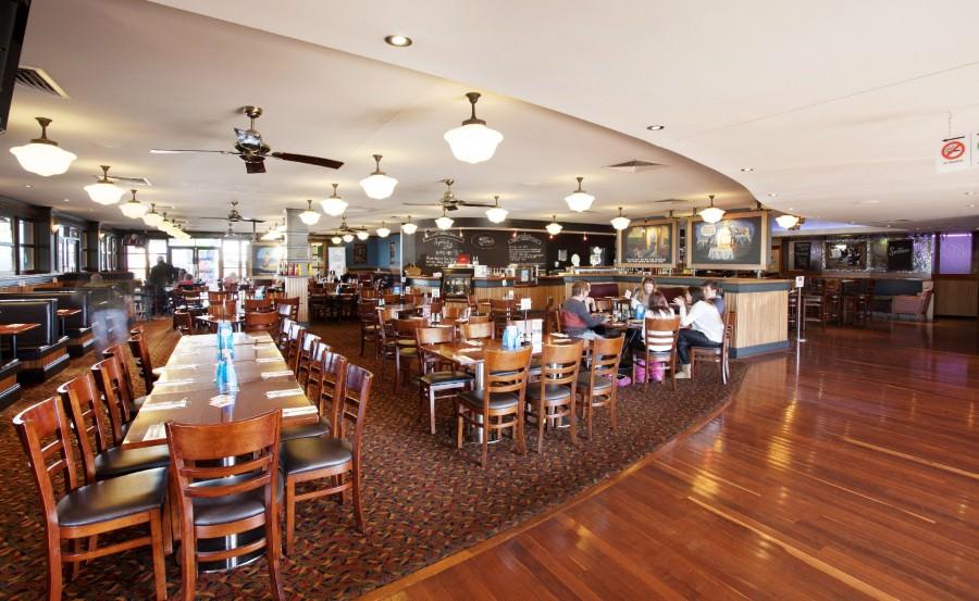 The Wilsonton Hotel dining room.