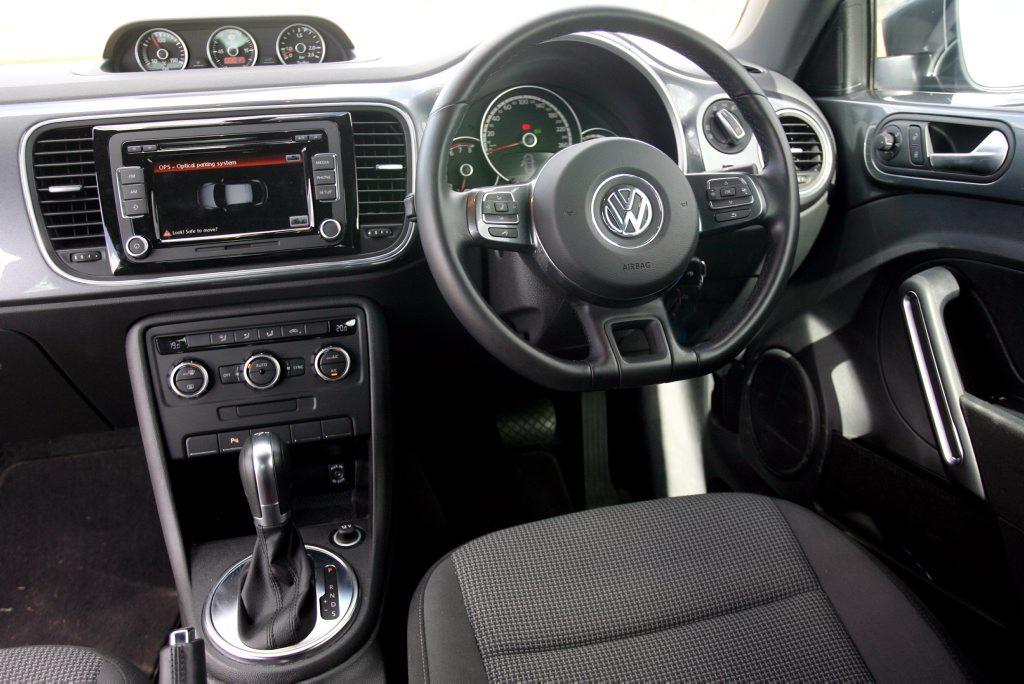 All new Volkswagen Beetle, exclusive to Rockhampton Prestige. Photo Tamara MacKenzie / The Morning Bulletin