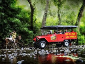 Offroad caves safari shows visitors Fiji's cannibal history
