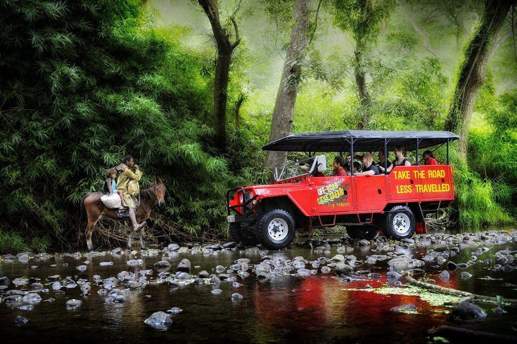 THE ROAD LESS TRAVELED: Off Road Caves Safari tours take visitors through Sigatoka's interior to Naihehe Cave.