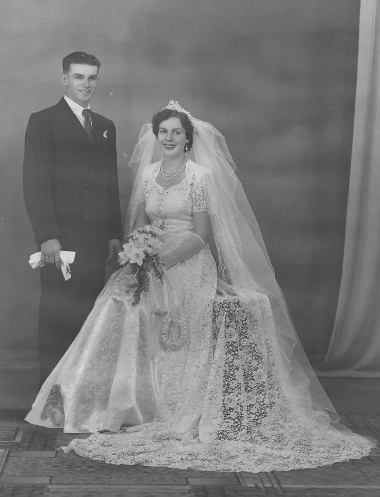 James and Marguerite (nee Weston) Gray were married on Saturday, May 28, 1955 in the then Charles Green Methodist Church, Gregory Street, Mackay.