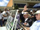 HMAS Toowoomba celebrations and parade in March 2006 Alan Birchley Photo Nev Madsen / The Chronicle