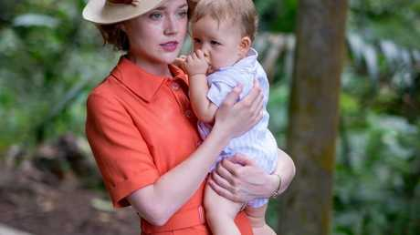 Jemima West as Alice in a scene from Indian Summers.