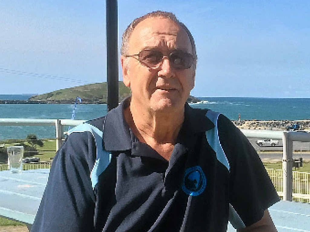LOOKING AHEAD: Coffs Harbour Deep Sea Fishing Club president Bill Mabey is confident of the club's future.