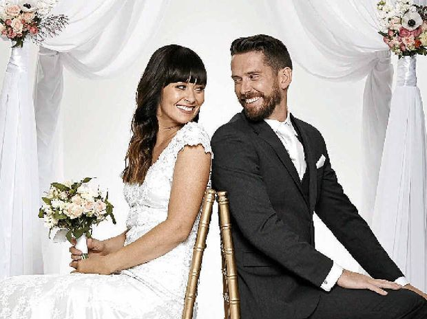 Michelle and James were paired on the TV series Married at First Sight.