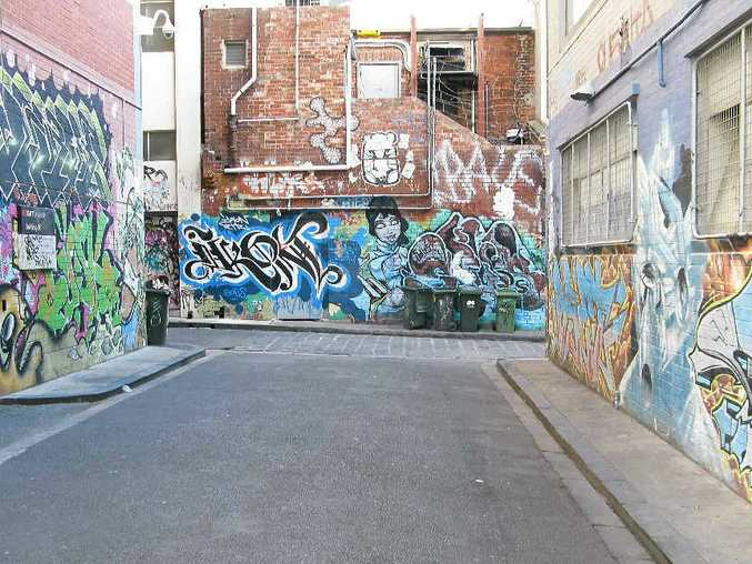 Melbourne's laneways offer kale-munching hipsters a chance to feed their creative soul, or be ironic.