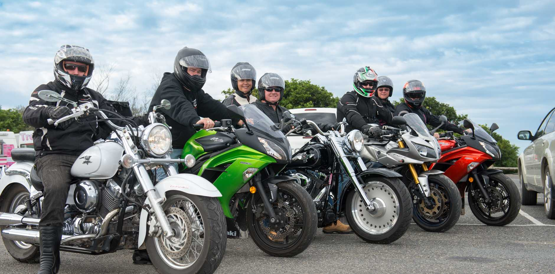 The Coastal Riders invite all motorcyclists to join the Annual Winter Charity Ride.