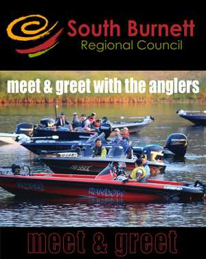 Meet and Greet the best bass anglers in the country. Look through the boats, win some prizes, sausage sizzle, peanuts & wine offered.