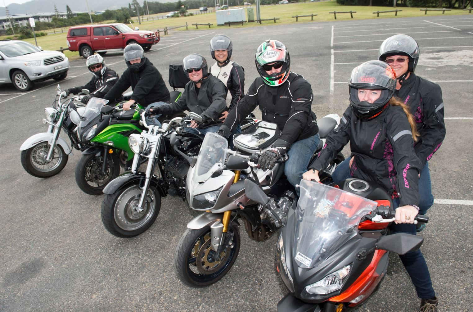 The Coastal Riders are ready to roll and raise funds for charity this weekend.