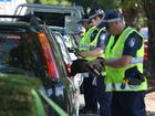Police undertook a blitz for Fatality Free Friday.
