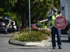 Police undertook a blitz on drivers in the Ipswich for Fatality Free Friday. Photo: Rob Williams / The Queensland Times