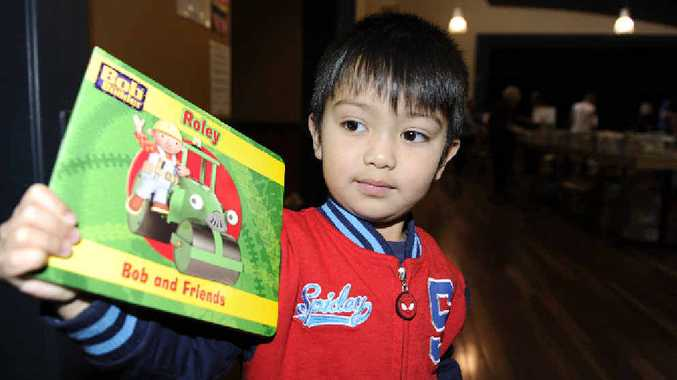 Rotary gave out free children's books at their latest book sale to improve childhood literacy.
