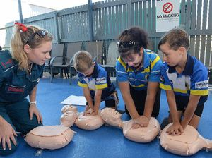 Life-saving course offered at Ipswich library