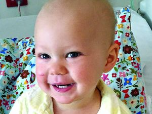 Hope in Avery's leukaemia battle after marrow transplant