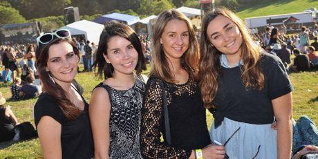 Jasmin Seychell-Longfield, Lucy McGuire, Talia Buckberry and Cassie Jackson.