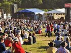 LIVE ON STAGE: The crowd settles in to enjoy the musical line-up on offer during the Big Pineapple Music Festival. Check out more pics from the festival in Monday's Daily.