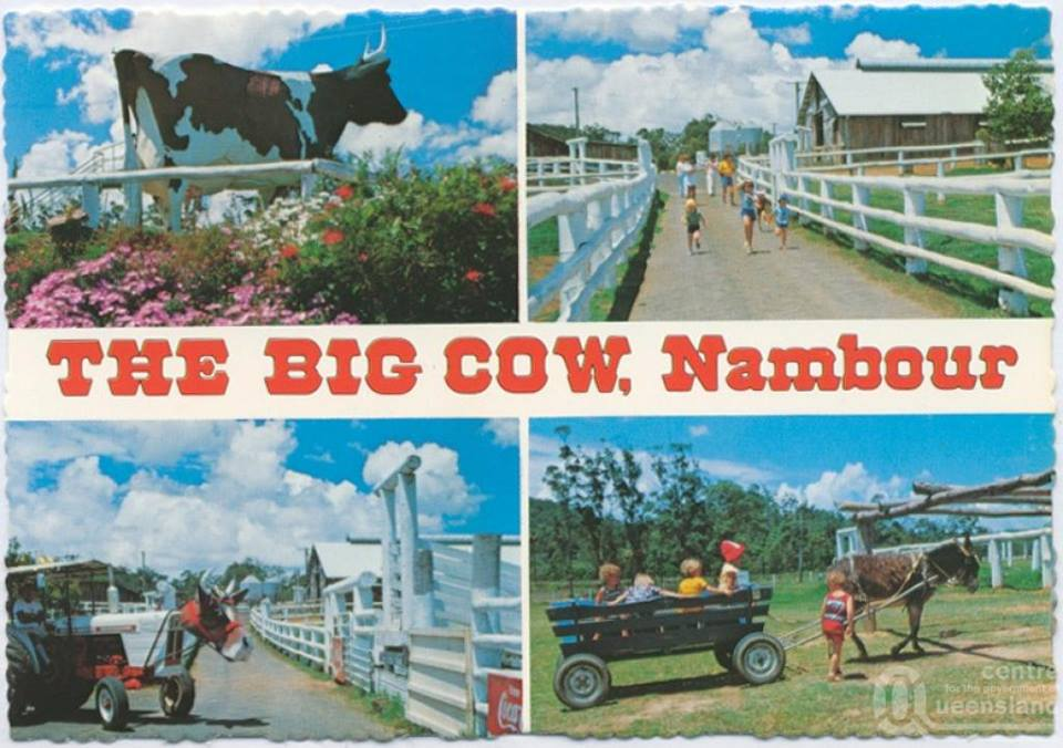 Ahhh yes, the Big Cow, who could forget?